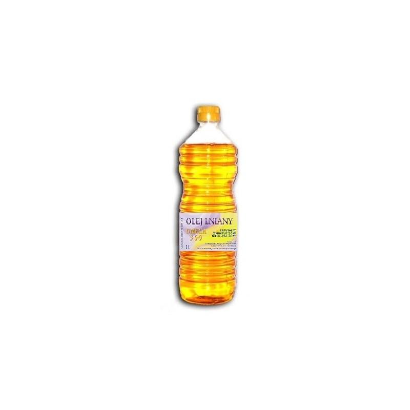 Olej lniany 1L - Omega 3 6 9