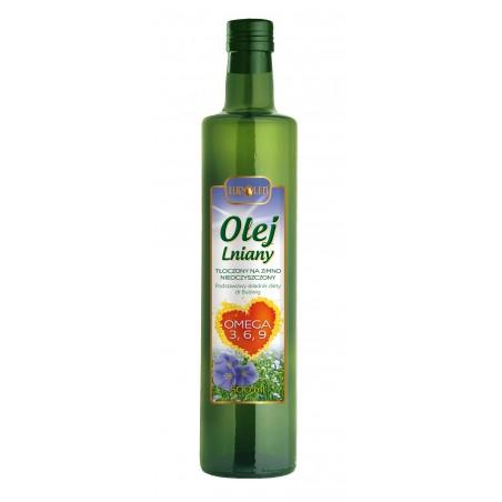 Olej lniany 500 ml - Omega 3 6 9