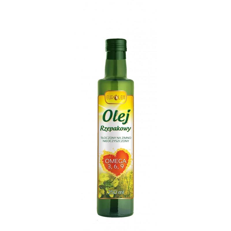 Olej rzepakowy Omega 3 6 9 - 0,25 L