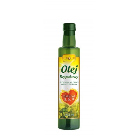 Olej rzepakowy 250 ml - Omega 3 6 9